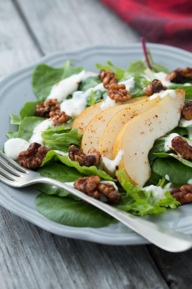 salad pear